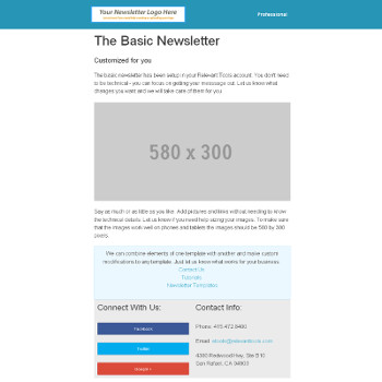 Basic Newsletter